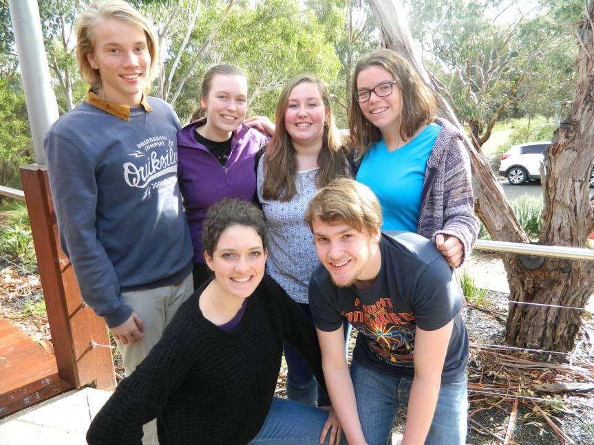 Wangaratta High School team members