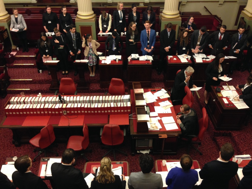 Compulsory Education of Family Violence Bill Passes Youth Parliament