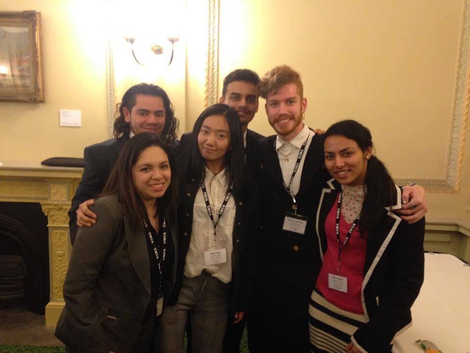 Swinburne University team at Parliament House